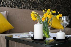 Kerzen & Blumen