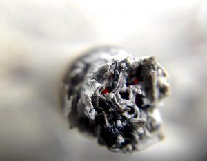 Nikotin in den Wänden
